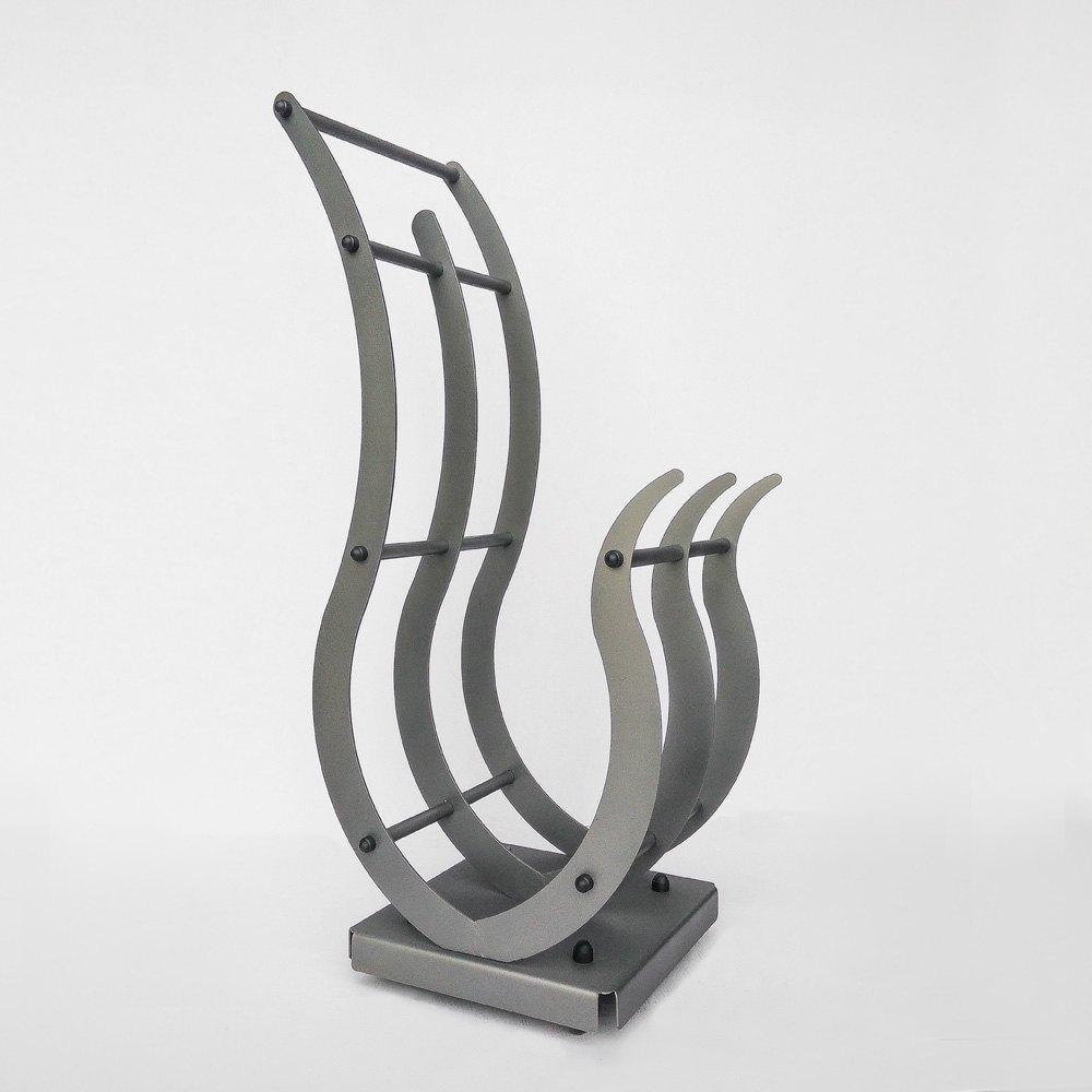 Mobilne stojaki na drewno o szerokości od 50 do 60 cm