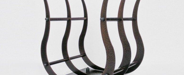 Mobilne stojaki na drewno do 50 cm szerokości